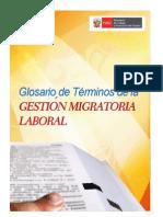 MTPE - Glosario de Términos de la Gestión Migratoria Laboral