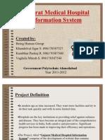 Gujarat Medical Hospital Information System