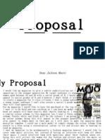 Magazine Proposal