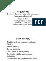 Negotiations Svetlicic 2011