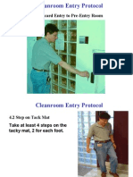 Cleanroom Entry-Exit Protocol