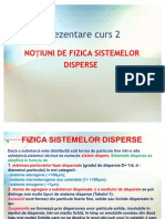 Curs 3 1 Sisteme Disperse