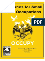 OCCUPY - Resources for Small Town Occupations