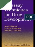 Bioassay Techniques for Drug Development by Atta-Ur Rahman