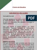 Guia Didactica Del Alumno Presentacion TAGO 2011