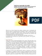 Qualidade Necessaria Ao Operador de Audio (Tecnico de Som)