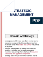 MBA Strategic Management Presentation