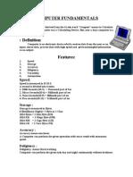 Computer Fundamental 1