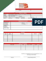 Ordem de serviço Modelo 01