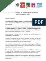 declaration unitaire 21 décembre