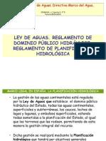 Tema 07. LEY DE AGUAS. DOMINIO PÚBLICO HIDRÁULICO. PLANIFICACIÓN HIDROLÓGICA.