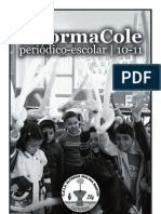 Periodico Escolar 2011