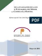 Informe Especial Ley Menor 3-1999