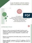 Biogas Purification Using Water Scrubbing Systems_Dr VK Vijay, IIIT Delhi