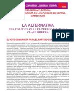 Programa-Electoral PCPE 2008