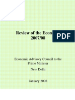 Review Economy 2007-2008 GoI
