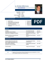 CV Christian Xavier Ubilla Correa - 2012
