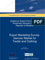 Market Survey Textile Germany En