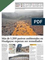 Problema Latente en Cajamarca, Perú