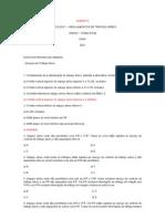 Exercicios Reg Traf Aereo 1_GABARITO