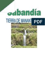 Historia y Constumbres Del Distrito de Sabandia1