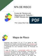 Mapa de Risco - disciplina de Desenho Técnico - Tec. Segurança Do Trabalho
