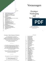 080 Voraussagen - Geistiger Niedergang und Weltenbrand