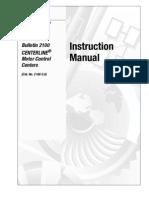 2100-5.0-Oct1995 (CenterLine2100 MCC Instruction Manual)