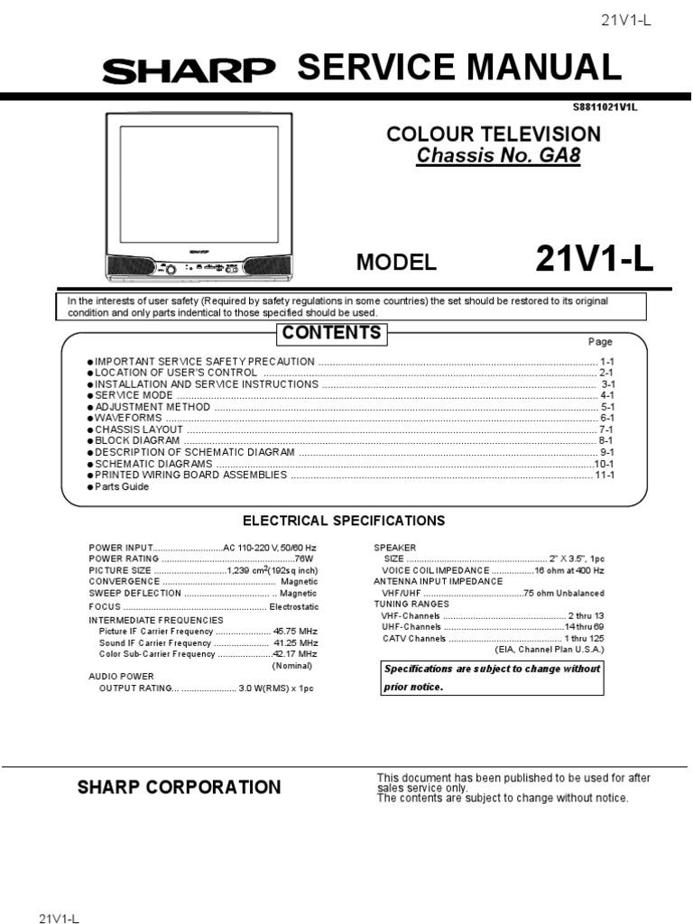 Sharp 21v1