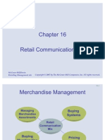 Retail Communiction Mix