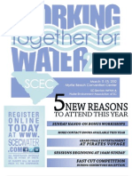 2012 SCEC Conference Flyer