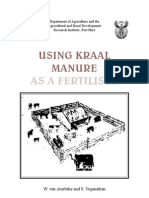 Kraal Manure 1997