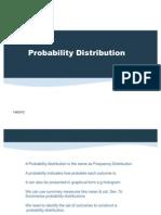 Probability Distribution MP