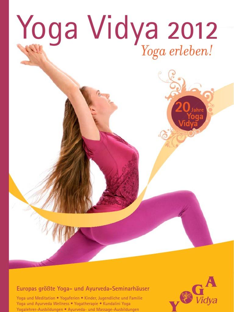 Yoga-Vidya-Katalog 2012