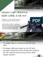 NEGEV Light Machine Gun