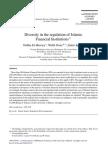 Diversity in Regulations IFI