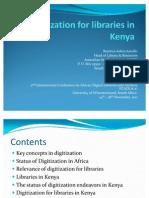 Digitization for Libraries in Kenya