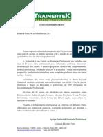 Carta parceria 2011