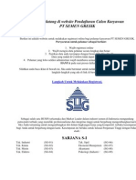 Selamat datang di website Pendaftaran Calon Karyawan