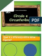 powerpoint sobre círculo e circunferência