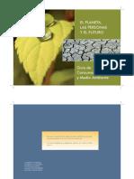 Guía de consumo responsable y medio ambiente.