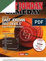 East Jordan Gameday Basketball
