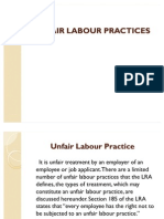 SHRM (Unfair Labour Practices and Collective Bargaining)