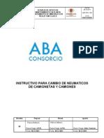 03.- ABA PROCEDIMIENTO Cambio de Neumaticos Cam Ion Etas y Camiones