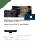 Kinect y Sus Futuras Aplicaciones en El Area de La Salud