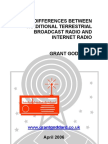 'The Differences Between Traditional Terrestrial Broadcast Radio And Internet Radio' by Grant Goddard