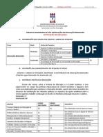ANEXO DE EDUCAÇÃO BRASILEIRA - Retificação em 18-11-2011