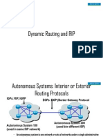 Class 19 - Dynamic Routing and Routing ion Protocol (RIP) Friday 16[1].11.07