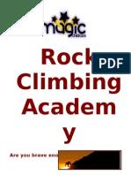 Rock Climbing Prospectus 2010(2)