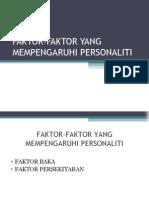 Faktor-faktor Yang Mempengaruhi Person Ali Ti 2003